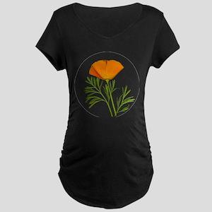 Golden Poppy Maternity T-Shirt