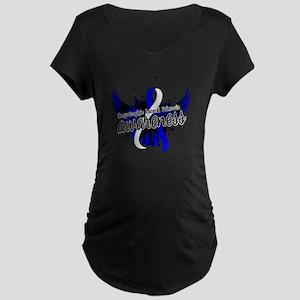 ALS Awareness 16 Maternity Dark T-Shirt