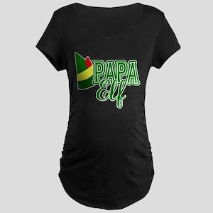 Papa Elf Elf Movie Maternity T-Shirt