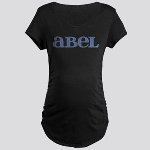 Abel Blue Glass Maternity Dark T-Shirt