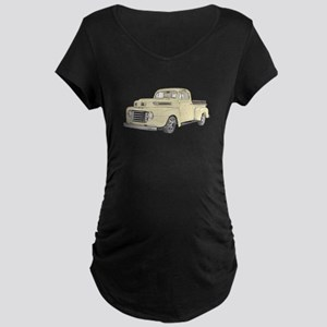 1950 Ford F1 Maternity Dark T-Shirt