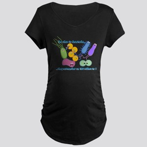 Outnumbered Maternity Dark T-Shirt