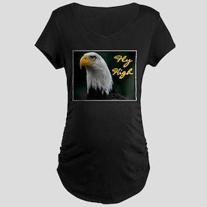 FEAR NO ONE Maternity Dark T-Shirt