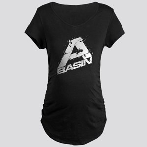 A-Basin Design For Dark Maternity Dark T-Shirt