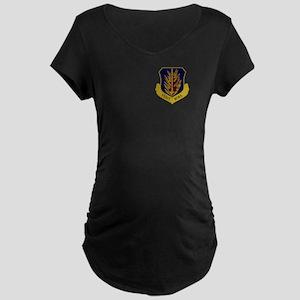 97th Bomb Wing Maternity T-Shirt (Dark)