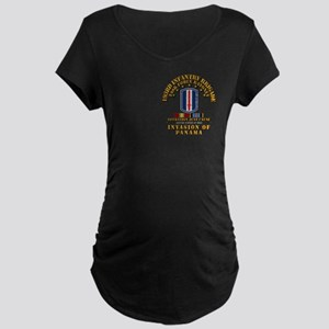 Just Cause - 193rd Infantry Maternity Dark T-Shirt