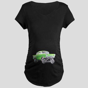 57 Green Gasser  Maternity T-Shirt