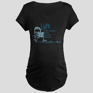 Camera Maternity T-Shirt