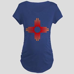 Zia Sun Symbol Maternity T-Shirt