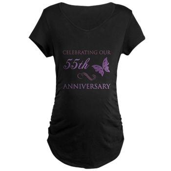 55th Wedding Aniversary Butterfly T Shirt 55th Wedding