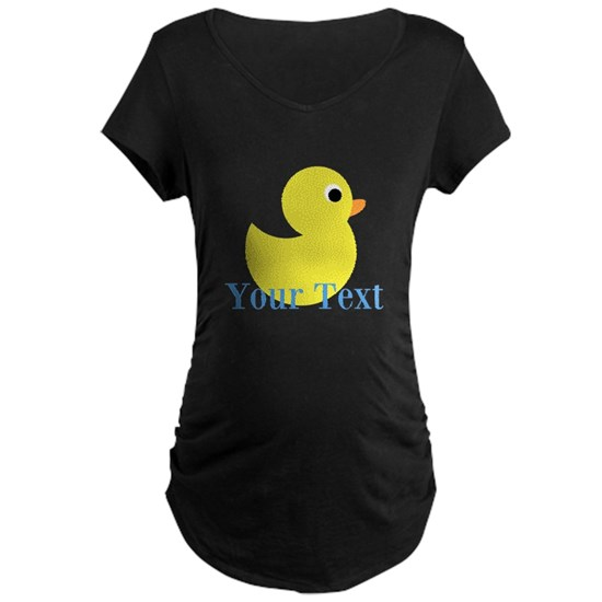 Personalizable Yellow Duck Blue
