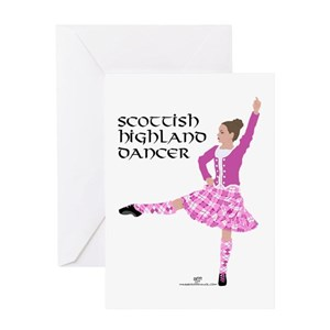 Scottish Highland Dancing Greeting Cards Cafepress