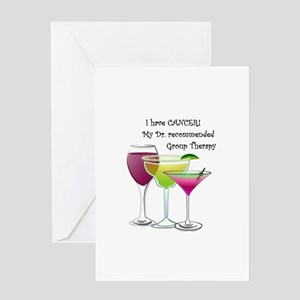 wine a little 2 Greeting Card