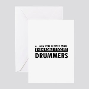 Drummers Designs Greeting Card