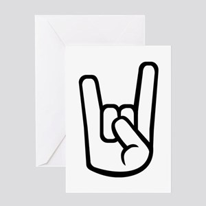 Rock Hand Greeting Card