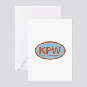 KPW - Keep Portland Weird Greeting Card