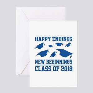 Class Of 2018 Greeting Card
