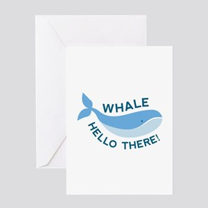 Whale Hello There! Greeting Card