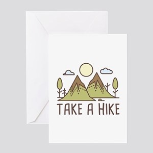 Take A Hike Greeting Card