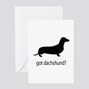 got dachshund? Greeting Card