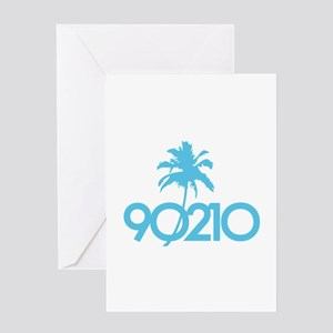90210 Greeting Card