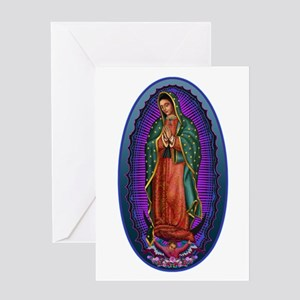 5 Lady of Guadalupe Greeting Card
