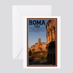 Morning in Rome Greeting Card