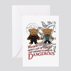 Winchester teddy bears Greeting Card