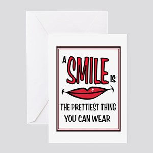 SMILE PRETTY Greeting Card