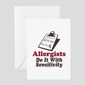 Allergist Immunologist Greeting Card