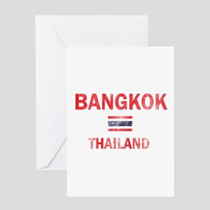 Bangkok Thailand Designs Greeting Card