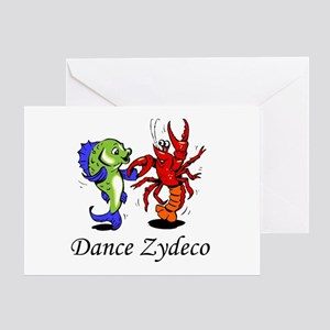 Dance Zydeco Greeting Card
