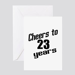23Rd Birthday Greeting Cards - CafePress