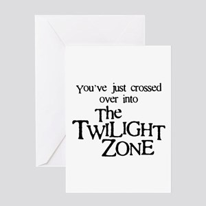 Into The Twilight Zone Greeting Card