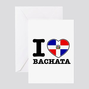 I love Bachata Greeting Card