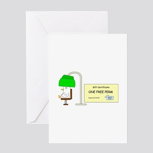 Free Perm Greeting Card