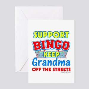 Funny Bingo Quotes Greeting Cards Cafepress