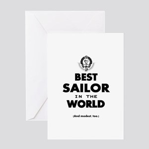 The Best in the World – Sailor Greeting Cards