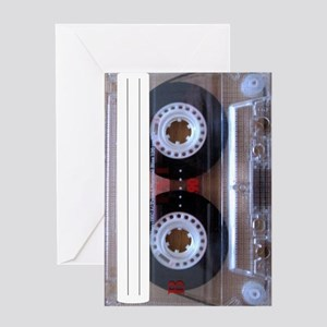 Cassette Music Tape Greeting Card