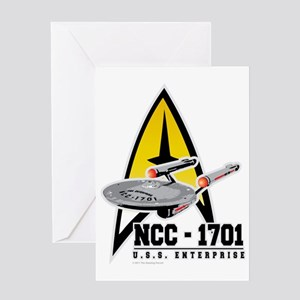 ST-NCC-1701 Greeting Card