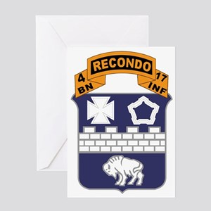 17th Recondo Greeting Card