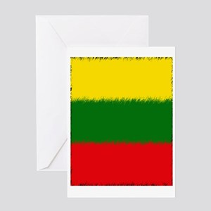 Lithuanian Flag Greeting Card
