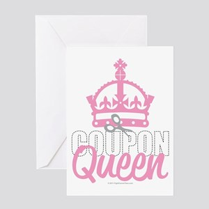 Coupon-Queen Greeting Card