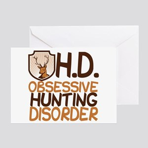 Funny Hunting Greeting Card