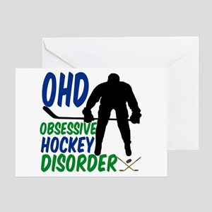 Hockey Humor Greeting Card