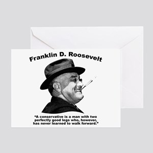 FDR: Conservatives Greeting Card