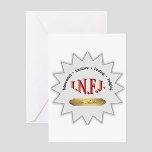 INFJ Greeting Card