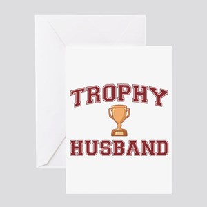 Trophy Husband Greeting Card
