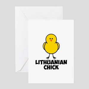 Lithuanian Chick Greeting Card