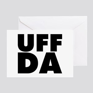 Uff Da Greeting Card